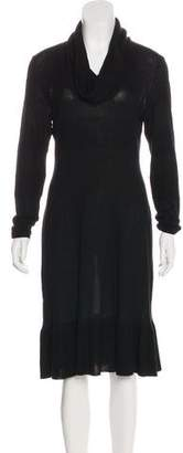 Magaschoni Silk and Cashmere Dress