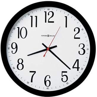 Howard Miller Gallery Wall Clock, Black