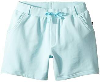 Toobydoo Bright Blue French Terry Camp Shorts Girl's Shorts