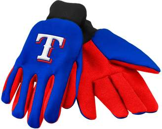 Forever Collectibles Texas Rangers Utility Gloves