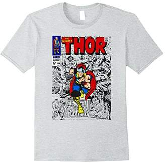 Marvel The Mighty Thor Retro Classic Comic Graphic T-Shirt