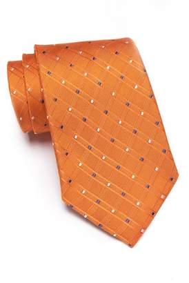 Nordstrom Rack Silk Hollow Mini Tie - XL Length