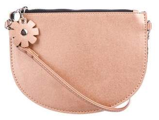 Zac Posen Celia Metallic Crossbody Bag