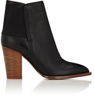 Vince. VINCE. WOMEN'S ELLEN LEATHER ANKLE BOOTS-BLACK SIZE NA $395 thestylecure.com