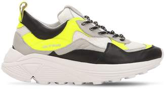 1248 Leather & Mesh Sneakers