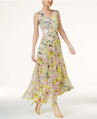 INC International Concepts Floral-Print Maxi Dress, Only at Macy's $119.50 thestylecure.com