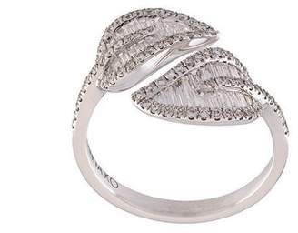 Anita Ko diamond small leaf ring