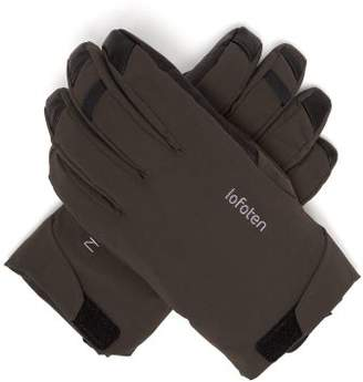 Norrona - Lofoten Padded Shell Ski Gloves - Mens - Grey