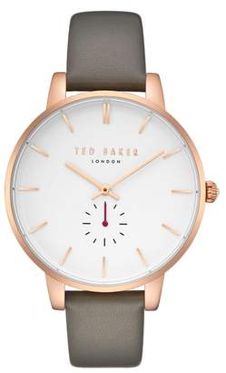 Ted Baker Olivia Leather Strap Watch