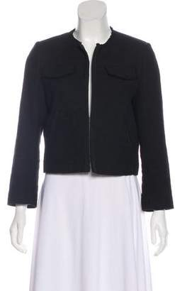 Band Of Outsiders Collarless Long Sleeve Jacket