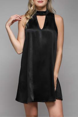Do & Be Keyhole Halter Aline Dress