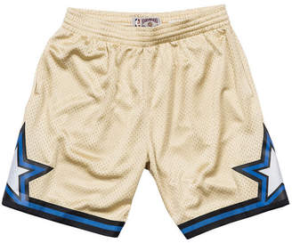 Mitchell & Ness Men's Orlando Magic Gold Collection Swingman Shorts