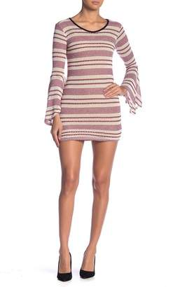 Couture Go Bell Sleeve Sheath Dress