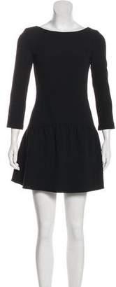 BA&SH Long Sleeve Mini Dress