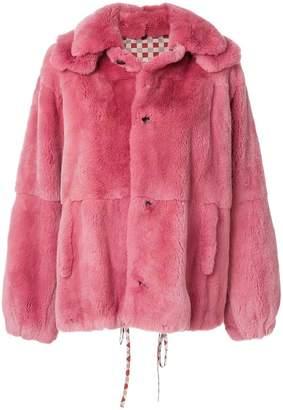 Marni oversized panelled coat