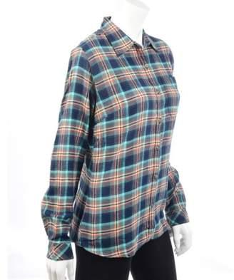 Dickies Women's Long Sleeve Plaid Flannel Shirt