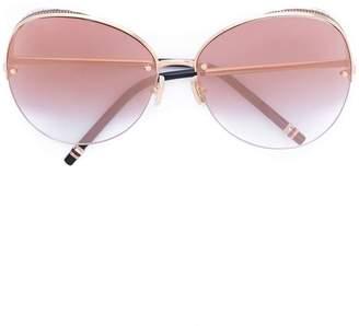 Boucheron Eyewear oversized round-frame sunglasses