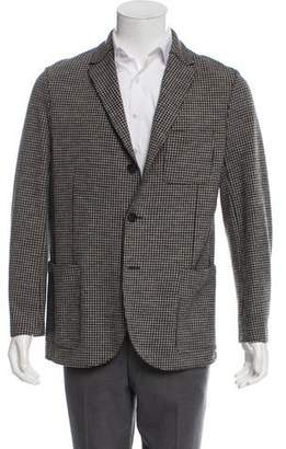Harris Wharf London Virgin Wool Houndstooth Sport Coat