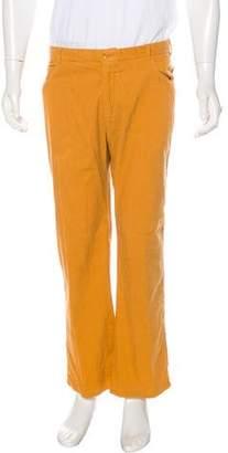 Malo Corduroy Flat Front Pants
