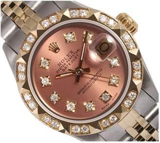 Rolex Vintage Lady DateJust 26mm Orange Steel Watches