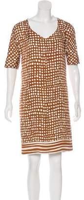 Loro Piana Knee-Length Polka Dot Dress