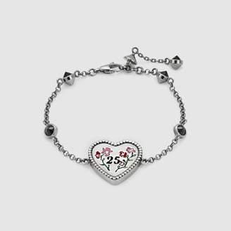 Gucci Heart bracelet in silver