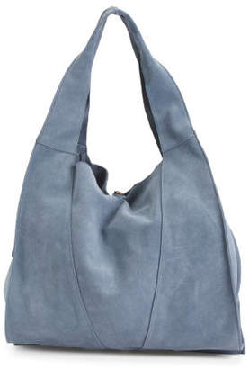 Large Suede Hobo