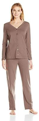 Jockey Women's Cotton Cardigan Pajama Set