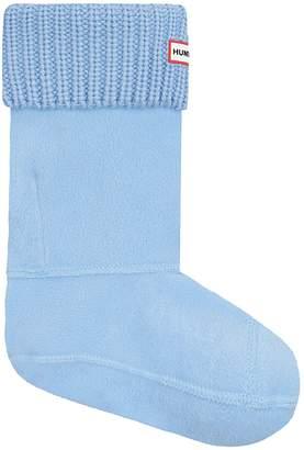 Hunter 'Half Cardigan' Fleece Boot Socks