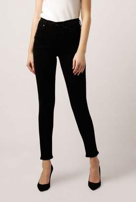 Gold Sign Profit Mid Rise Ankle Jean
