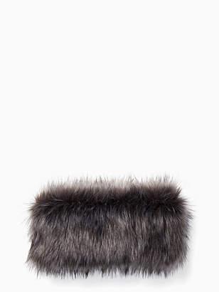 Kate Spade Silver fox neckwarmer