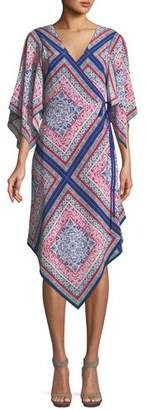 Trina Turk Alannah Wrap Dress in Meet Me in Malibu
