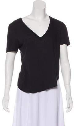 A.L.C. Short Sleeve Knit T-Shirt