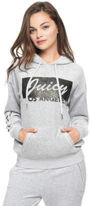 Juicy Couture Velour Juicy LA Slouchy Hooded Pullover
