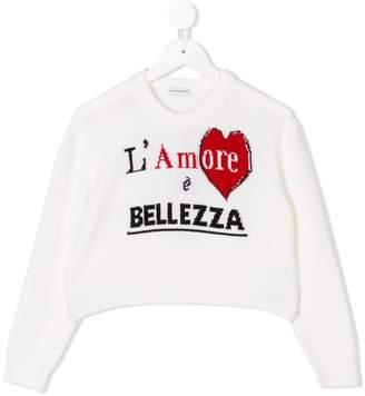 Dolce & Gabbana L'Amore É Bellezza jumper