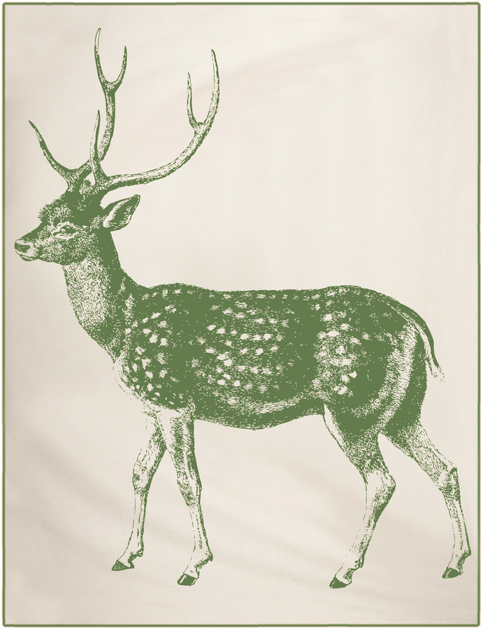 Thomas Paul Deer Throw