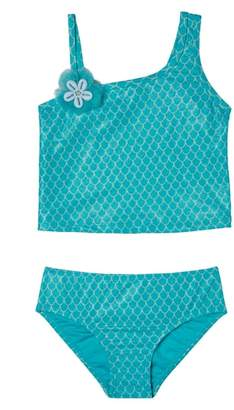 Hula Star Mermaid Princess Two-Piece Swimsuit