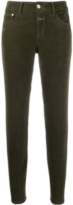 Closed cropped skinny jeans