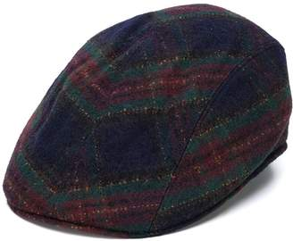 Altea tartan pattern textured hat
