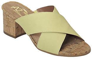 Aerosoles A2 by Heel Rest Slide Sandals - Midday