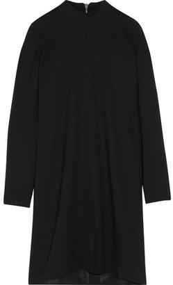 Rick Owens - Moody Wool-crepe Mini Dress - Black $900 thestylecure.com