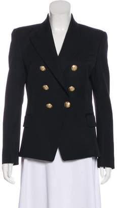 Balmain Wool Long Sleeve Blazer