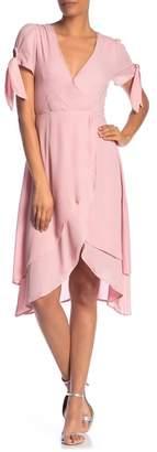 Dee Elly Short Sleeve Layered Dress