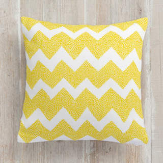 Dotty Chevron Square Pillow