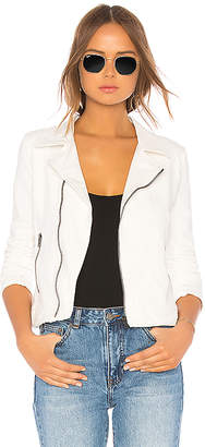 Moto June Distressed Stretch Jacket
