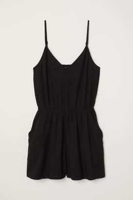 H&M Short Jumpsuit - Black
