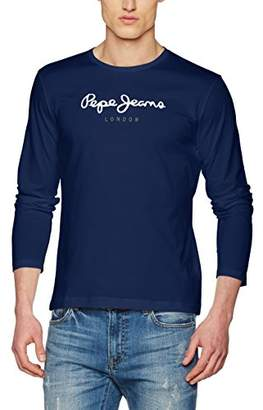 For Jeans Tops Blue Fitted Uk Men Pepe Shopstyle q4wIxBI
