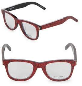 Saint Laurent 50MM Square Optical Glasses