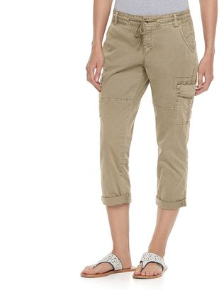 Women's SONOMA Goods for LifeTM Utility Capris $40 thestylecure.com