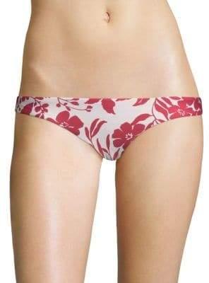 Red Carter Reversible Bikini Bottom